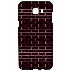 Brick1 Black Marble & Red Colored Pencil (r) Samsung C9 Pro Hardshell Case  by trendistuff