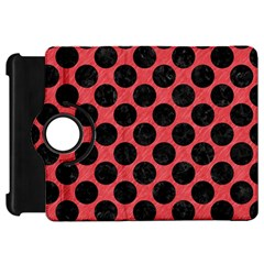 Circles2 Black Marble & Red Colored Pencil Kindle Fire Hd 7  by trendistuff