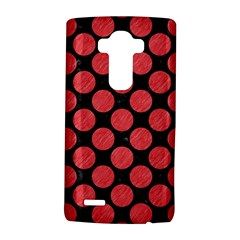 Circles2 Black Marble & Red Colored Pencil (r) Lg G4 Hardshell Case by trendistuff