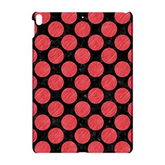 Circles2 Black Marble & Red Colored Pencil (r) Apple Ipad Pro 10 5   Hardshell Case by trendistuff