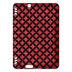 Circles3 Black Marble & Red Colored Pencil Kindle Fire Hdx Hardshell Case by trendistuff