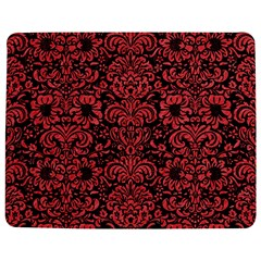 Damask2 Black Marble & Red Colored Pencil (r) Jigsaw Puzzle Photo Stand (rectangular)