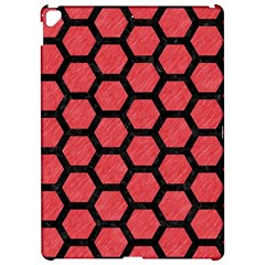 Hexagon2 Black Marble & Red Colored Pencil Apple Ipad Pro 12 9   Hardshell Case by trendistuff