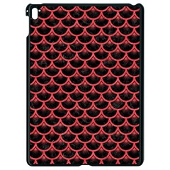 Scales3 Black Marble & Red Colored Pencil (r) Apple Ipad Pro 9 7   Black Seamless Case by trendistuff