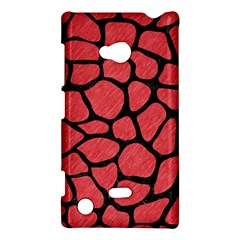 Skin1 Black Marble & Red Colored Pencil (r) Nokia Lumia 720 by trendistuff