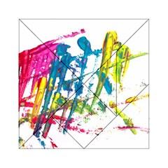 No 128 Acrylic Tangram Puzzle (6  X 6 ) by AdisaArtDesign