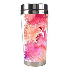 No Stainless Steel Travel Tumblers by AdisaArtDesign