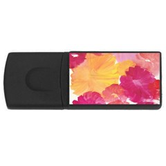 No 136 Rectangular Usb Flash Drive by AdisaArtDesign
