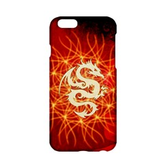 Wonderful Golden Dragon On Red Vintage Background Apple Iphone 6/6s Hardshell Case by FantasyWorld7