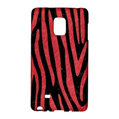 Skin4 Black Marble & Red Colored Pencil Galaxy Note Edge by trendistuff
