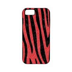 Skin4 Black Marble & Red Colored Pencil (r) Apple Iphone 5 Classic Hardshell Case (pc+silicone) by trendistuff