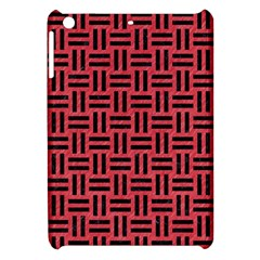 Woven1 Black Marble & Red Colored Pencil Apple Ipad Mini Hardshell Case by trendistuff