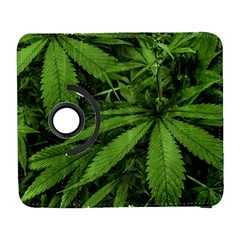 Marijuana Plants Pattern Galaxy S3 (flip/folio) by dflcprints