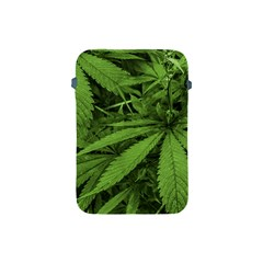 Marijuana Plants Pattern Apple Ipad Mini Protective Soft Cases by dflcprints