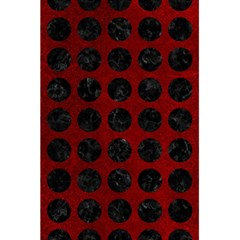 Circles1 Black Marble & Red Grunge 5 5  X 8 5  Notebooks by trendistuff