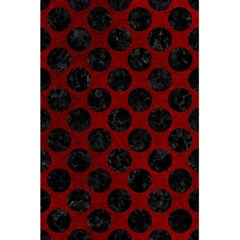 Circles2 Black Marble & Red Grunge 5 5  X 8 5  Notebooks by trendistuff