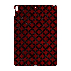 Circles3 Black Marble & Red Grunge Apple Ipad Pro 10 5   Hardshell Case by trendistuff