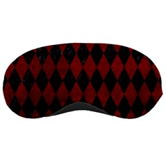 Diamond1 Black Marble & Red Grunge Sleeping Masks by trendistuff