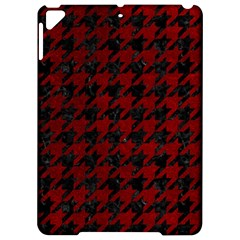 Houndstooth1 Black Marble & Red Grunge Apple Ipad Pro 9 7   Hardshell Case by trendistuff