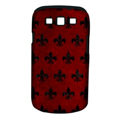 Royal1 Black Marble & Red Grunge (r) Samsung Galaxy S Iii Classic Hardshell Case (pc+silicone) by trendistuff