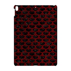 Scales3 Black Marble & Red Grunge (r) Apple Ipad Pro 10 5   Hardshell Case by trendistuff