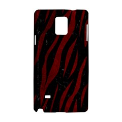 Skin3 Black Marble & Red Grunge (r) Samsung Galaxy Note 4 Hardshell Case by trendistuff