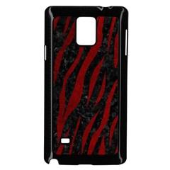Skin3 Black Marble & Red Grunge (r) Samsung Galaxy Note 4 Case (black) by trendistuff