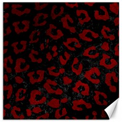 Skin5 Black Marble & Red Grunge Canvas 20  X 20   by trendistuff