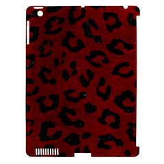 Skin5 Black Marble & Red Grunge (r) Apple Ipad 3/4 Hardshell Case (compatible With Smart Cover) by trendistuff