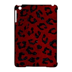 Skin5 Black Marble & Red Grunge (r) Apple Ipad Mini Hardshell Case (compatible With Smart Cover) by trendistuff