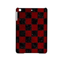 Square1 Black Marble & Red Grunge Ipad Mini 2 Hardshell Cases by trendistuff
