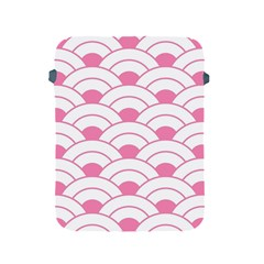Art Deco Shell Pink White Apple Ipad 2/3/4 Protective Soft Cases by 8fugoso