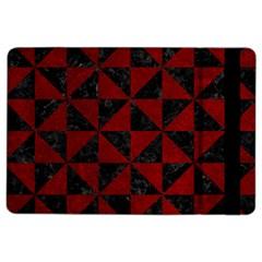 Triangle1 Black Marble & Red Grunge Ipad Air 2 Flip by trendistuff