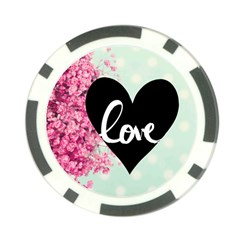 Modern Collage Shabby Chic Poker Chip Card Guard (10 Pack) by 8fugoso