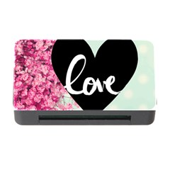 Modern Collage Shabby Chic Memory Card Reader With Cf by 8fugoso