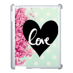 Modern Collage Shabby Chic Apple Ipad 3/4 Case (white) by 8fugoso