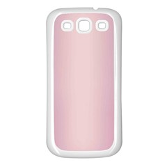 Beautiful,rose Gold,pattern Samsung Galaxy S3 Back Case (white) by 8fugoso