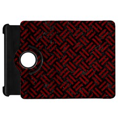 Woven2 Black Marble & Red Grunge (r) Kindle Fire Hd 7  by trendistuff