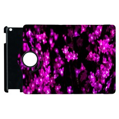 Abstract Background Purple Bright Apple Ipad 2 Flip 360 Case by Onesevenart