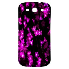 Abstract Background Purple Bright Samsung Galaxy S3 S Iii Classic Hardshell Back Case by Onesevenart