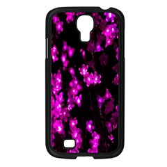 Abstract Background Purple Bright Samsung Galaxy S4 I9500/ I9505 Case (black) by Onesevenart
