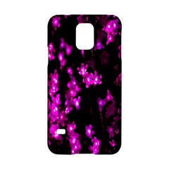Abstract Background Purple Bright Samsung Galaxy S5 Hardshell Case  by Onesevenart