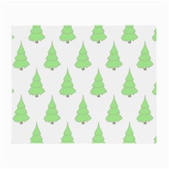 Background Christmas Christmas Tree Small Glasses Cloth (2 Side) by Onesevenart