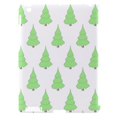 Background Christmas Christmas Tree Apple Ipad 3/4 Hardshell Case (compatible With Smart Cover) by Onesevenart
