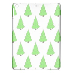 Background Christmas Christmas Tree Ipad Air Hardshell Cases by Onesevenart