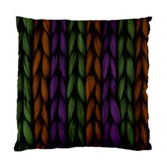 Background Weave Plait Purple Standard Cushion Case (two Sides) by Onesevenart