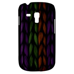 Background Weave Plait Purple Galaxy S3 Mini by Onesevenart