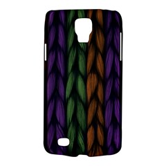 Background Weave Plait Purple Galaxy S4 Active by Onesevenart