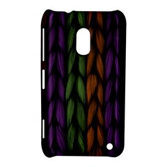 Background Weave Plait Purple Nokia Lumia 620 by Onesevenart