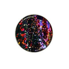 Abstract Background Celebration Hat Clip Ball Marker by Onesevenart